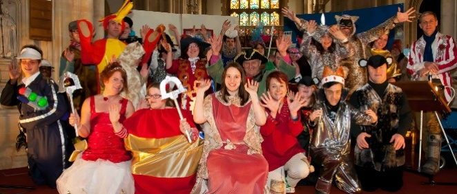 Dick Whittington arrives in Salisbury