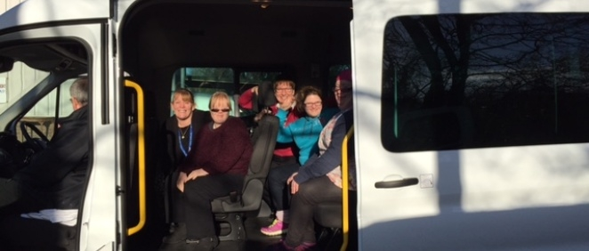 New Mini Bus for Learning Disability Services