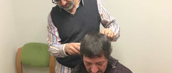Barber from Amesbury gives free haircuts to the homeless