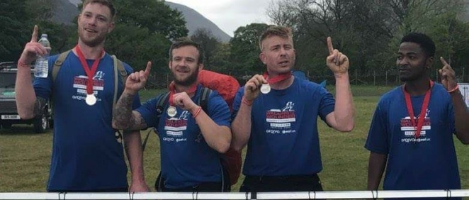 Victorious at the Cumbrian Challenge