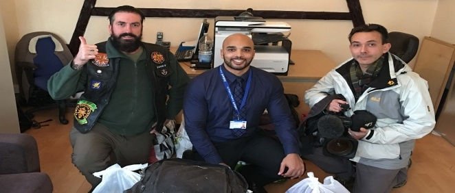 Armed Forces Bikers Donation