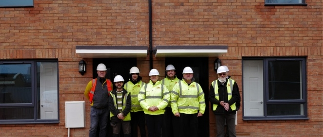 Our Veteran Self Builders are moving into their own homes in time for Christmas