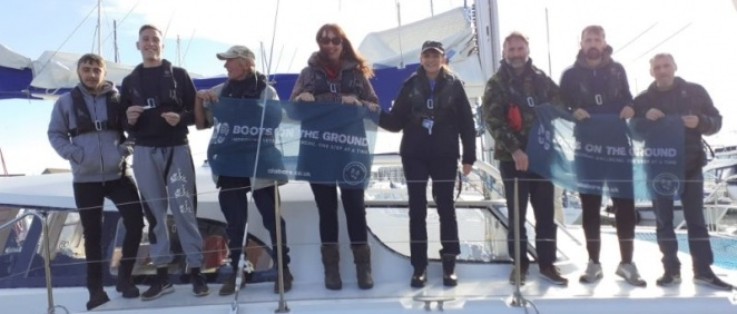 Boots on the Ground sets sail on the Solent