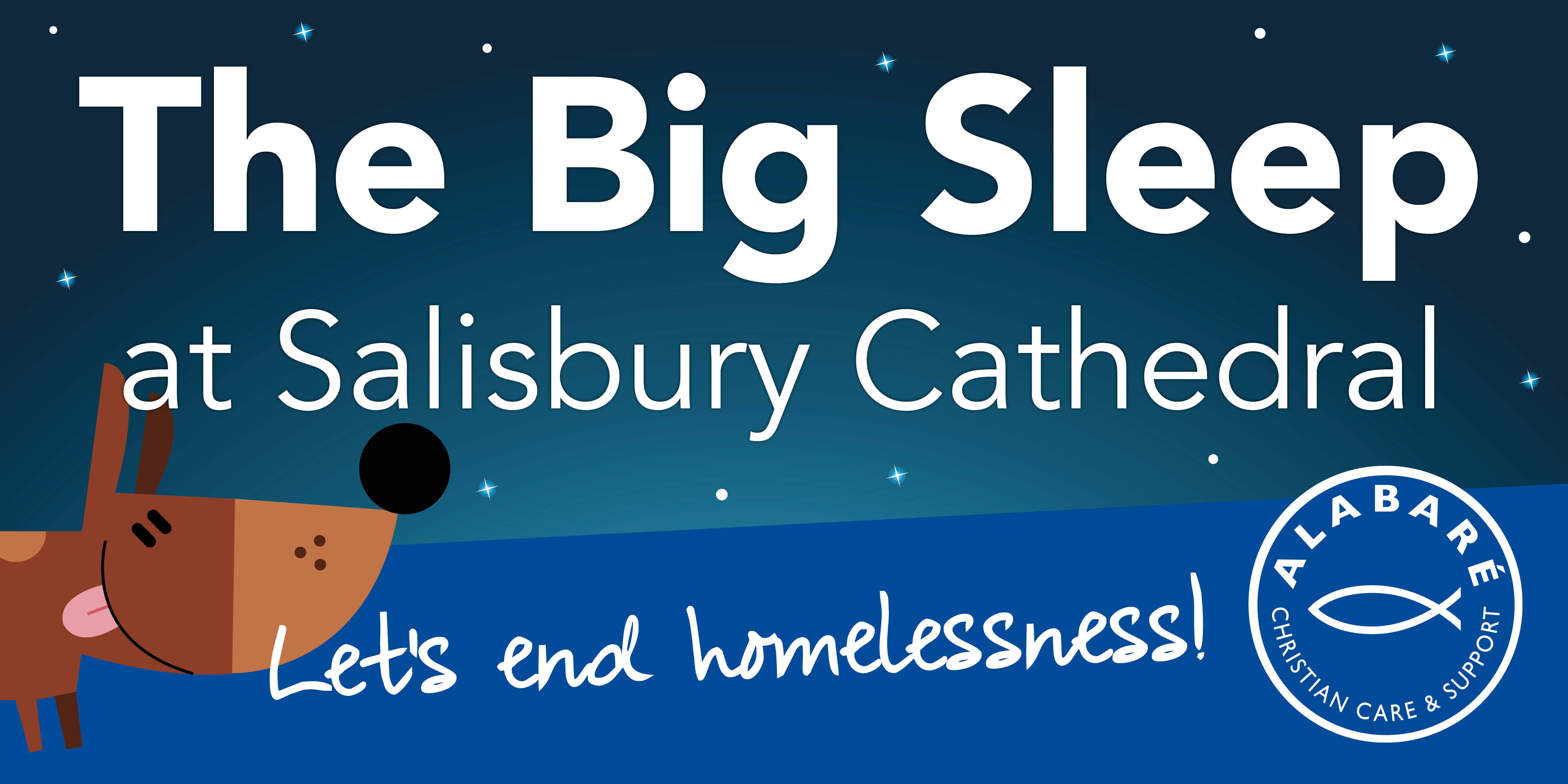 alabare big sleep at salisbury cathedral goes woof dogs