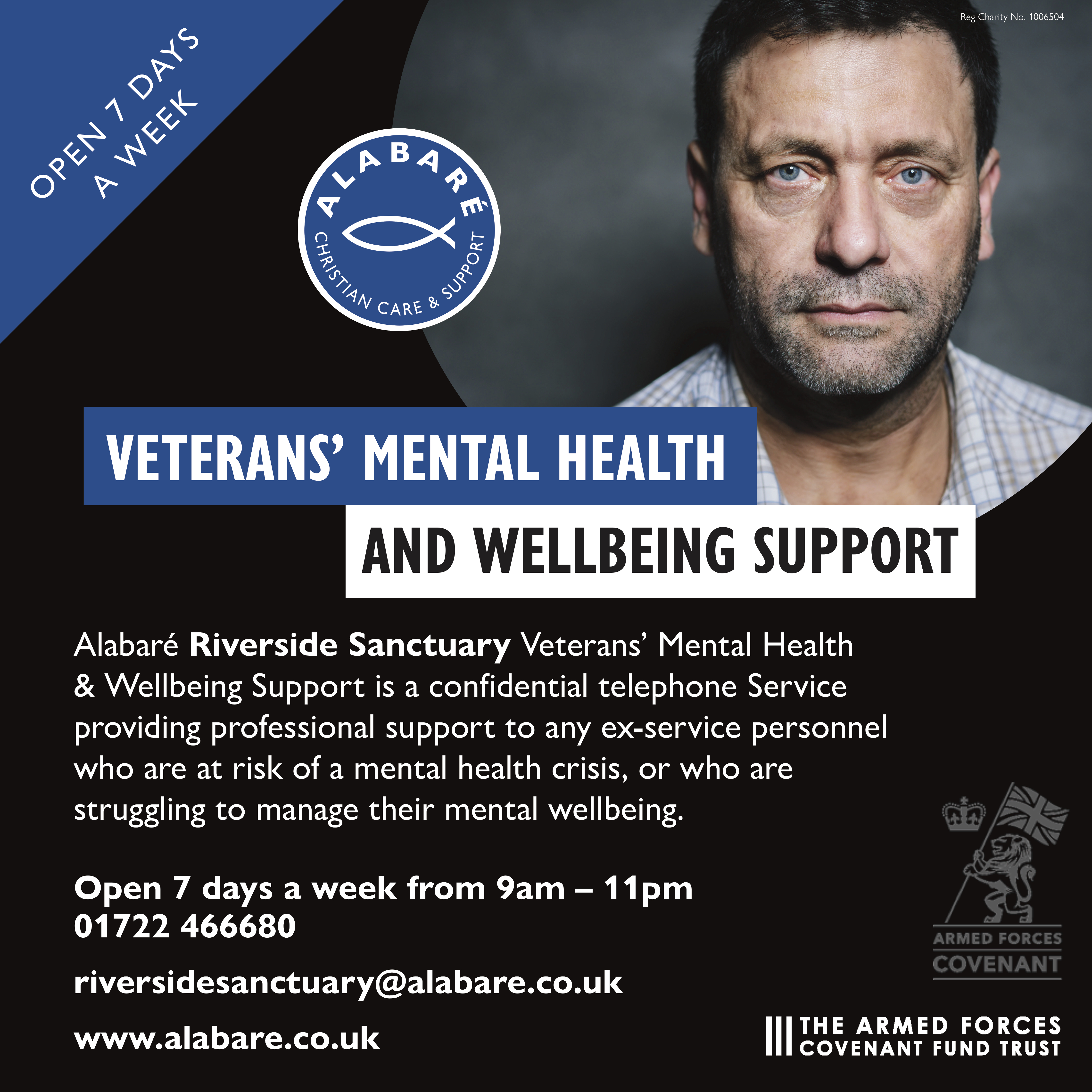 Veterans Mental Health Support Service poster