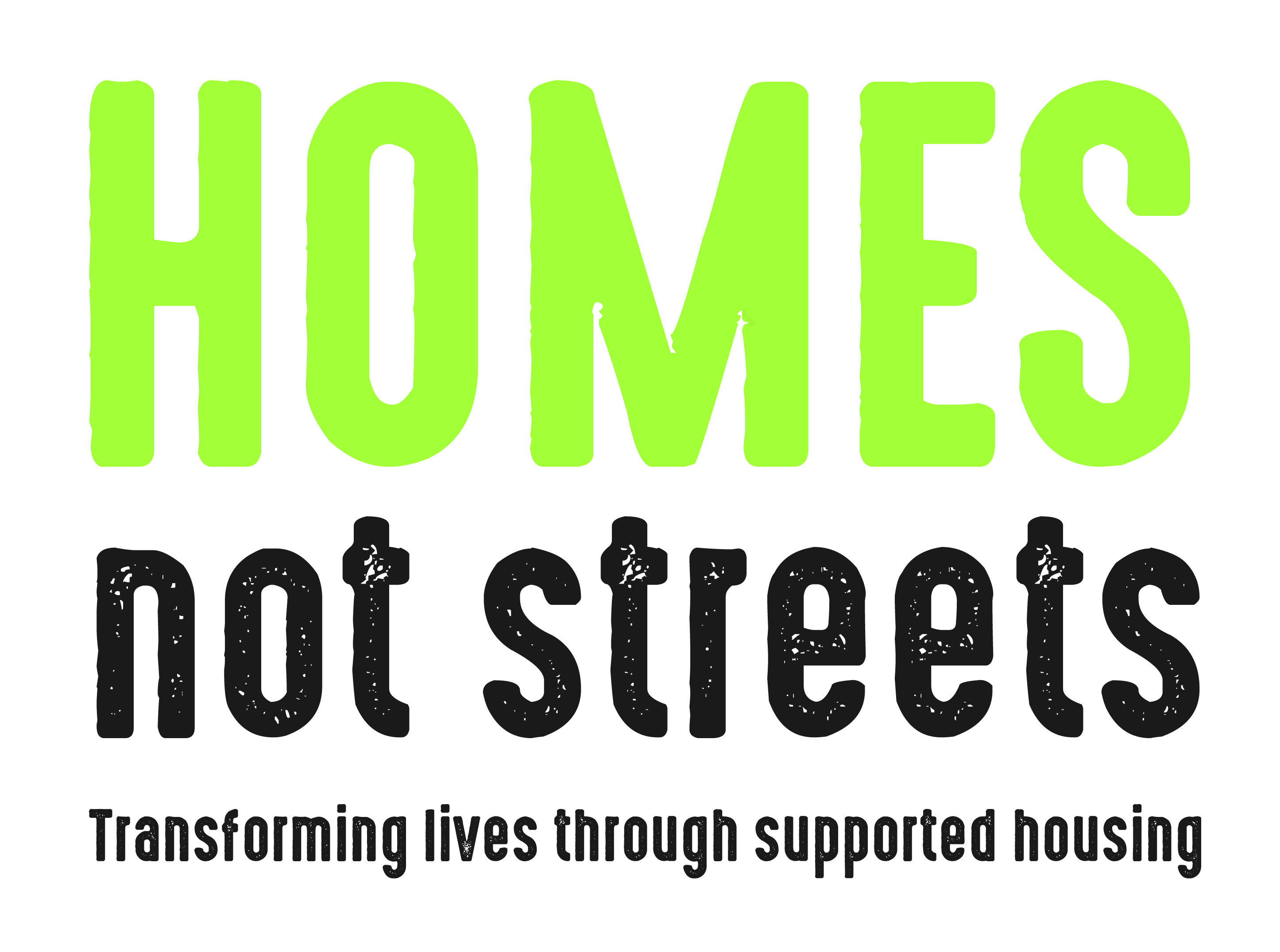 Homes not streets graphic