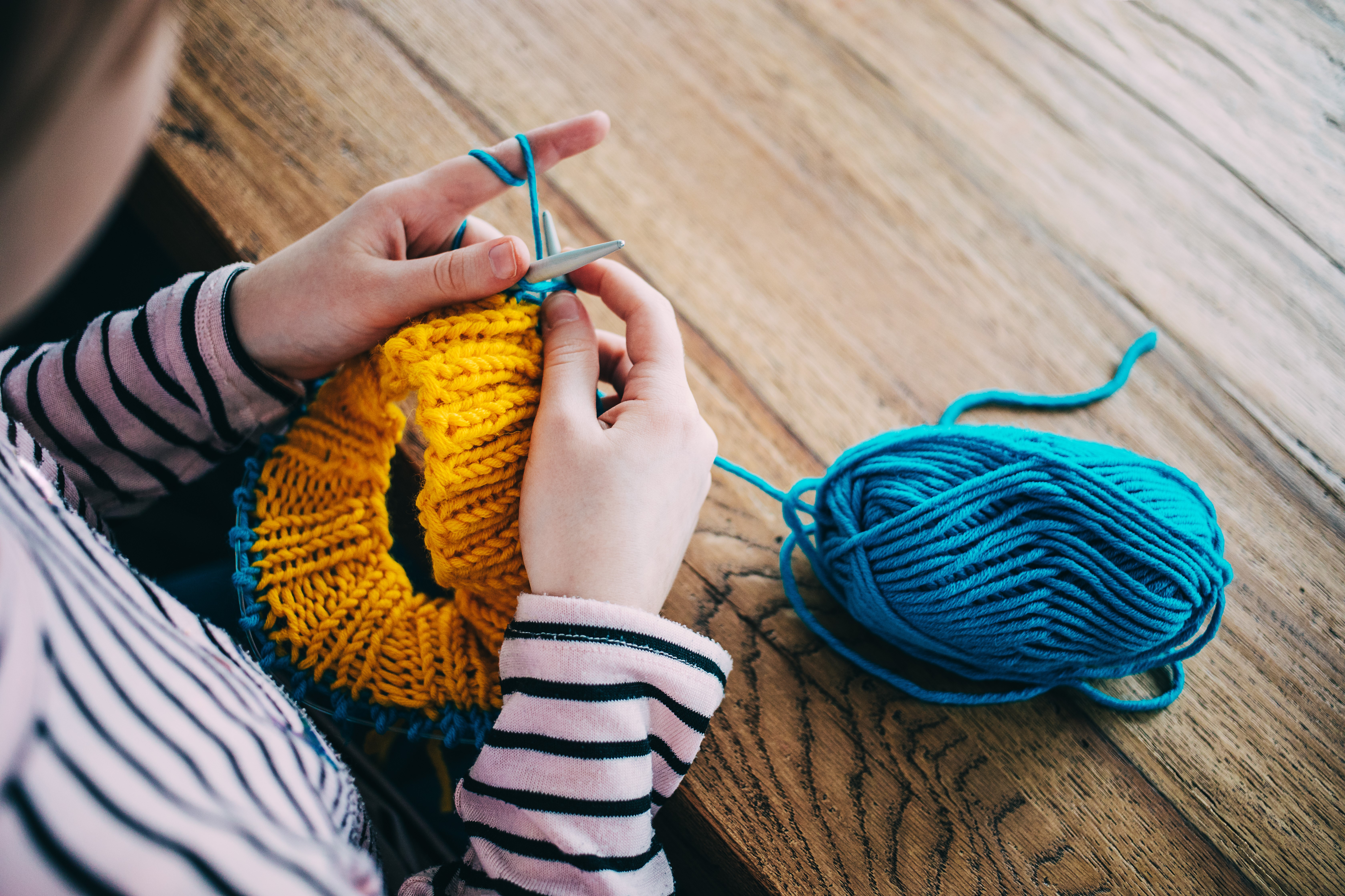 Knitting for a Change