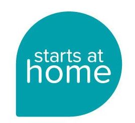 NHF Starts at Home campaign logo