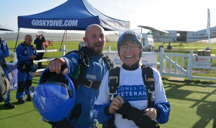 Alabare charity skydive old sarum go skydive salisbury wiltshire 2