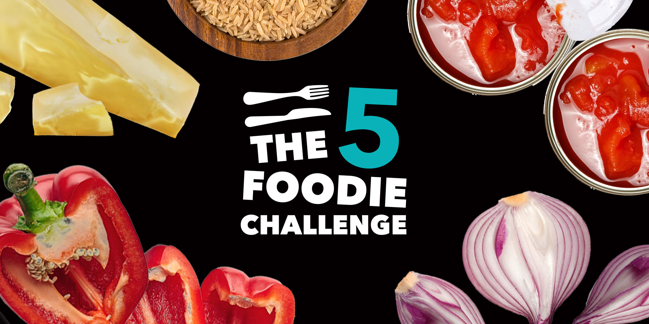 The 5 Foodie Challenge